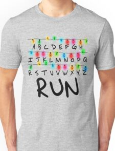Stranger Things (run) Unisex T-Shirt