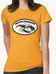 Lobster Commander Womens Fitted T-Shirt