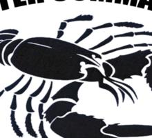 Lobster Commander Sticker