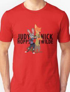 Judy Hopps & Nick Wild from Zoomania / Zootropolis T-Shirt