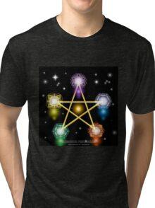 Elements Pentagram Tri-blend T-Shirt