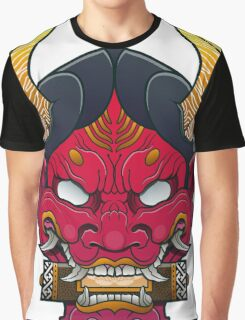 Hannya Mask Graphic T-Shirt