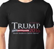 donald trump T-shirt - Trump for 2016 make america great again  Unisex T-Shirt