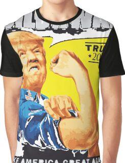 donald trump T-shirt - build a wall  Graphic T-Shirt