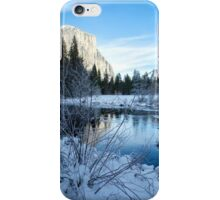 Winter landscape in Yosemite, California iPhone Case/Skin
