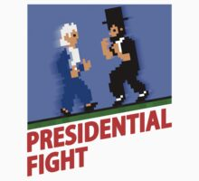 Presidential Fight! - Retro Nintendo One Piece - Short Sleeve