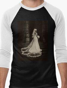 Dead Bride (sepia) Men's Baseball ¾ T-Shirt