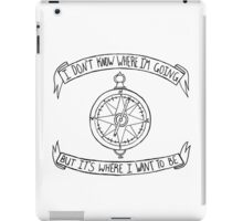 Fireworks Compass iPad Case/Skin