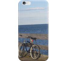 Bike at the Dock iPhone Case/Skin