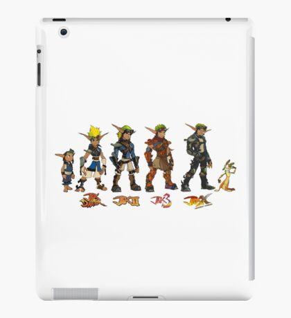 Jak and Daxter Saga - Simplified Colours iPad Case/Skin