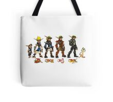 Jak and Daxter Saga - Simplified Colours Tote Bag
