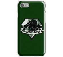 Metal Gear Solid V - Diamond Dogs (Monchromatic) iPhone Case/Skin