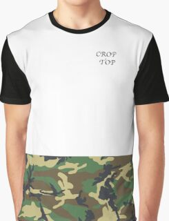 Crop Top Graphic T-Shirt