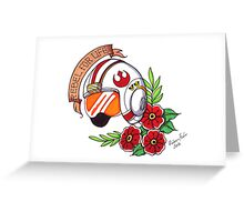 Rebel For Life Greeting Card