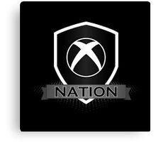 Xbox Nation Canvas Print