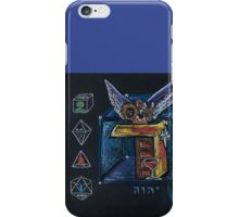 "DALET - 4 - The Door to ""I AM"" iPhone Case/Skin"