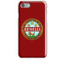Benelli Vintage motorcycle Italy iPhone Case/Skin