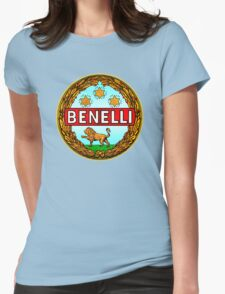 Benelli Vintage motorcycle Italy Womens Fitted T-Shirt
