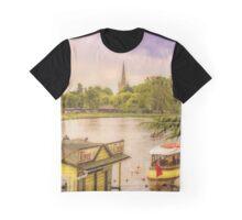 River View Stratford upon Avon Graphic T-Shirt