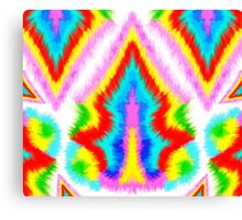 Painting Ikat Background Canvas Print