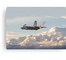 F35 - Into the Future Canvas Print