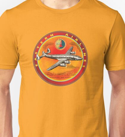 Eastern Airlines Constellation USA VINTAGE AIRLINE SIGN Unisex T-Shirt