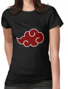 itachi ninja cloud symbon t-shirt  Womens Fitted T-Shirt