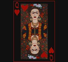 Frida,  Queen of Hearts II Womens Fitted T-Shirt