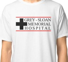 Clothes Grey Sloan Memorial Hospital Classic T-Shirt