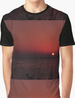Sunrise after the Super Moon, As Is Graphic T-Shirt