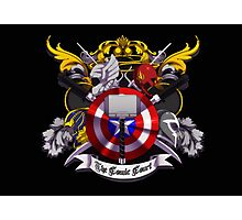 The Comic Court Crest Photographic Print