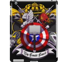 The Comic Court Crest iPad Case/Skin