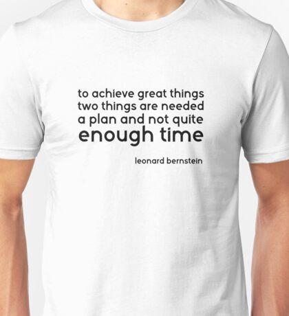 Cool Music Quote Life Wisdom Smart Unisex T-Shirt