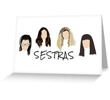 SESTRAS Greeting Card