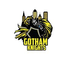 Gotham Knight iPhone 5 Case by Jaeroar