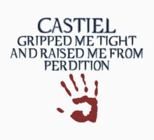 Castiel- Perdition+Handprint by howellecki