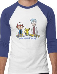 Rick and Morty - Gazorpazorpmon Men's Baseball ¾ T-Shirt