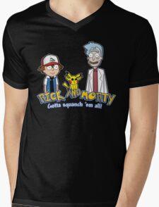 Rick and Morty - Gazorpazorpmon Mens V-Neck T-Shirt