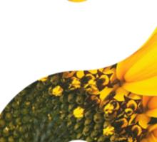Sun flower yin-yang  Sticker