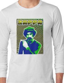 Frank Zappa Blacklight Long Sleeve T-Shirt