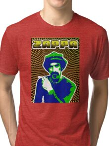 Frank Zappa Blacklight Tri-blend T-Shirt