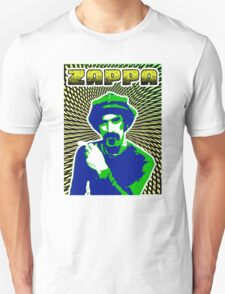 Frank Zappa Blacklight Unisex T-Shirt