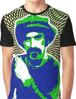Frank Zappa Blacklight Graphic T-Shirt