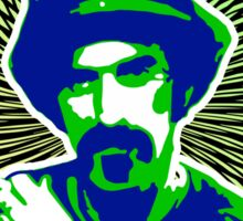 Frank Zappa Blacklight Sticker