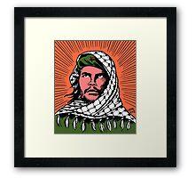 Palestinian Che Framed Print