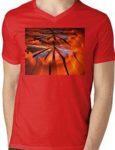Orange Sunshine Mens V-Neck T-Shirt