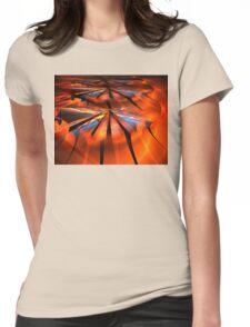 Orange Sunshine Womens Fitted T-Shirt