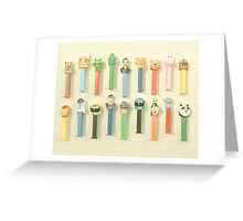 Pez Collection Greeting Card