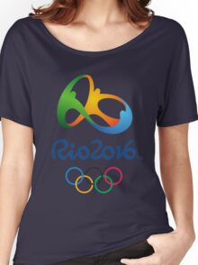 rio 2016 olympiade Women's Relaxed Fit T-Shirt