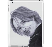 Robert Carlyle Rumpelstiltskin Once Upon a Time iPad Case/Skin